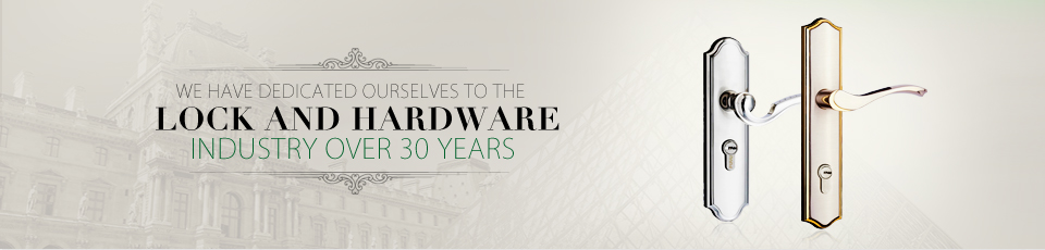 LOKIN have dedicated ourselves to the lock and hardware industry over 30 years.