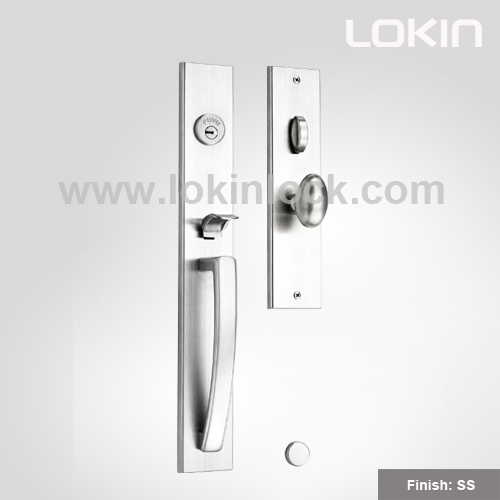 LOKIN 81ST08 Grip Handleset | Mortise Type | Manufacturer For Main Door,  Entrance Door, Villa, Premium U0026 Heavy Duty U0026 Secure Handle Lock.