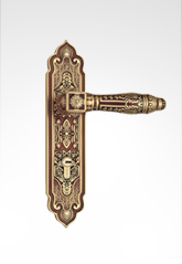 LOKIN 26B22 Panel Door Handle Lockset